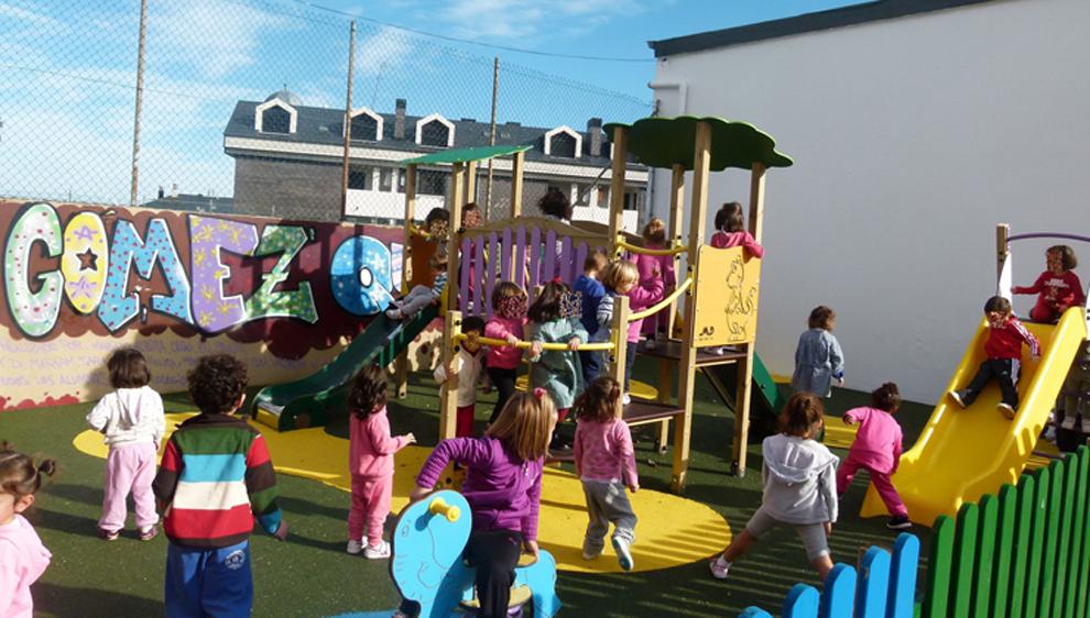 Educación y Ayuntamiento llegan a un acuerdo para cubrir el patio del colegio Portus Blendium