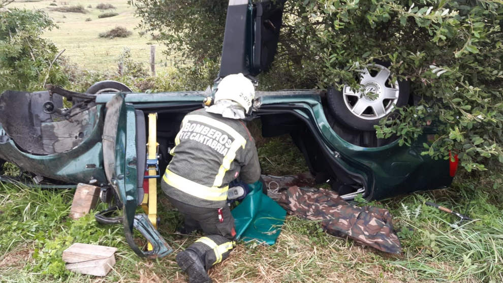 Accidente en Orzales