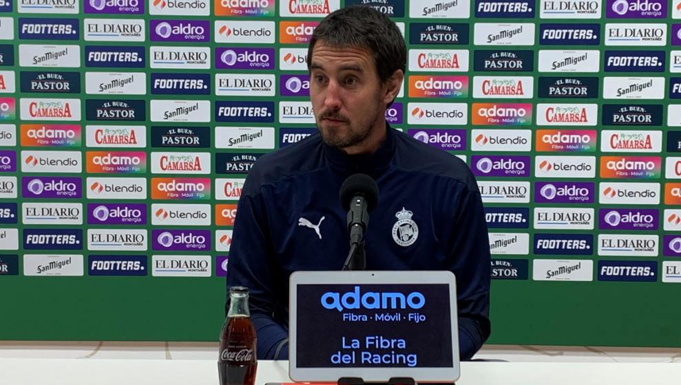 """Aritz Solabarrieta: """"El problema de hoy ha sido el mal fútbol con y sin balón, pero no la falta de intensidad"""""""