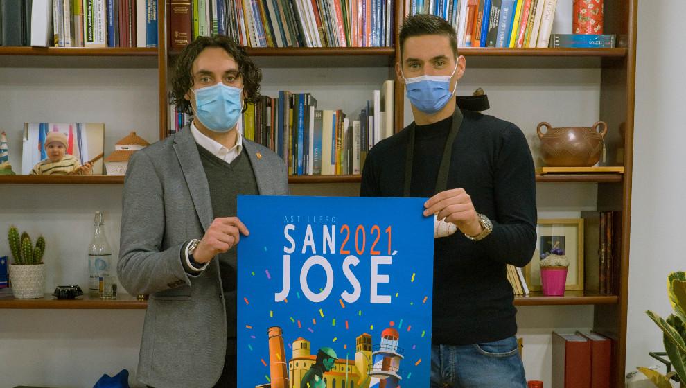 El 'hispano' Ángel Fernández, pregonero de las fiestas de San José de Astillero