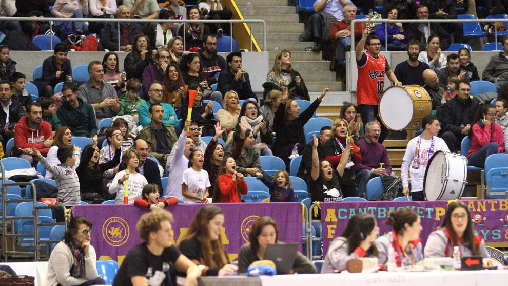 Cantbasket 04 jugará con público el sábado ante la Universidad de Valladolid