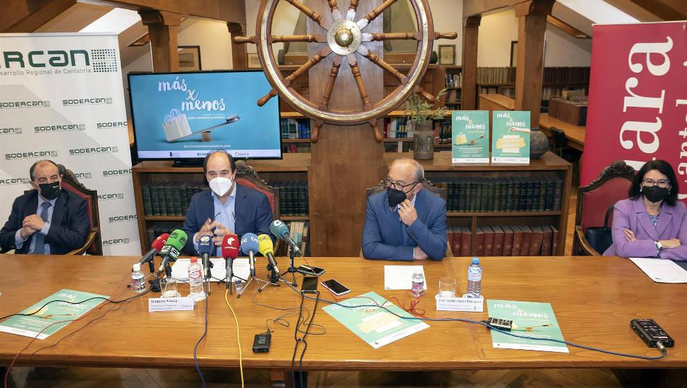 Cantabria lanzará 9.300 bonos de 100 euros para el comercio minorista del 26 de abril al 24 de junio