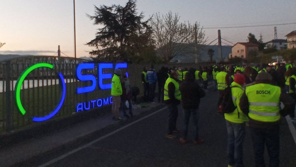 Huelga en SEG Automotive