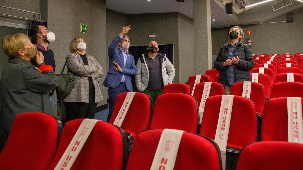 Gobierno y Ayuntamiento colaborarán en la remodelación de La Vidriera, que comenzará en 2022 y se convertirá en una sala de cine