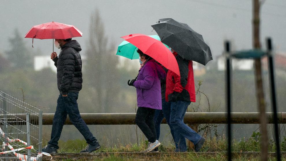 Alto Campoo registra la temperatura mínima del país y otros seis municipios cántabros lideran la tabla de lluvias
