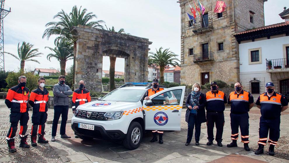 El Ayuntamiento adquiere un nuevo todoterreno para Protección Civil