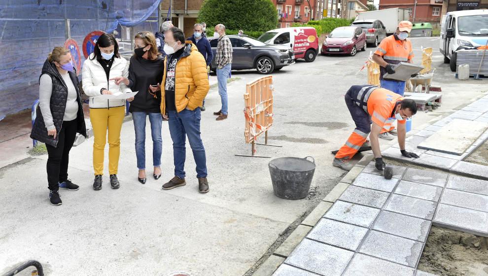 El Ayuntamiento acondiciona la Bajada del Caleruco