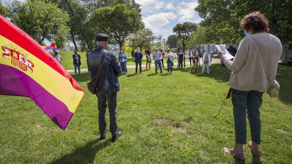 El municipio homenajea a las víctimas del nazifascismo