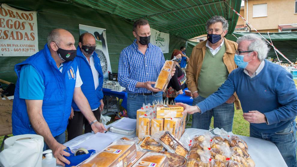 Veinticuatro productores participan en la II Feria Agroalimentaria