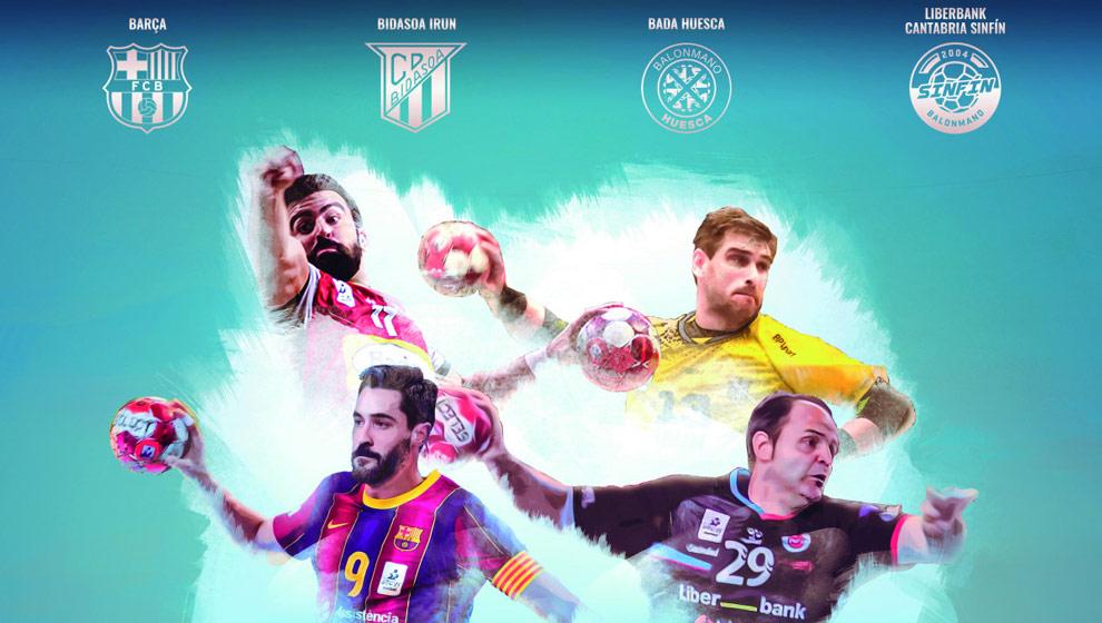 Menos de 24 horas para el sorteo de la copa ASOBAL que se disputará en Cantabria