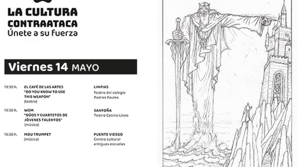 'Planeta Palacio' lleva este fin de semana música, teatro y magia a Limpias, Santoña y Puente Viesgo