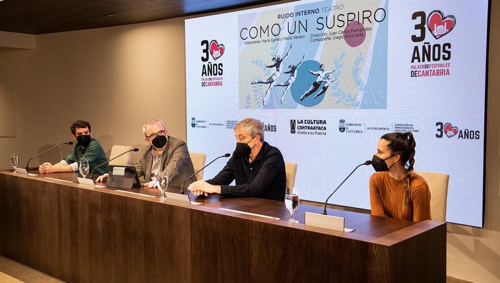 Ruido Interno estrena la obra 'Como un suspiro' en el Palacio de Festivales