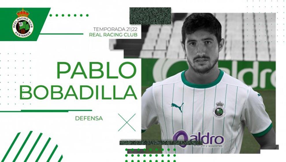 Pablo Bobadilla, quinta incorporación del Racing