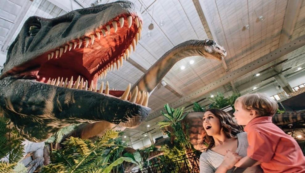 Los dinosaurios llegan a Santander