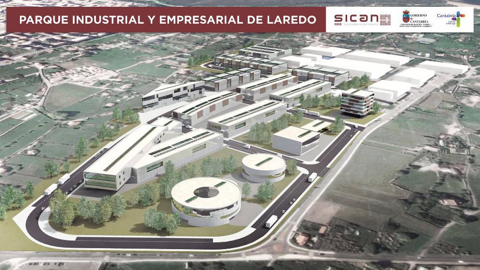 Adjudicada la redacción del PSIR del Parque Empresarial de Laredo en 140.000 euros