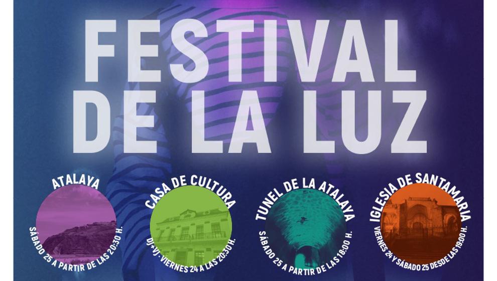 Laredo celebra el I Festival de la Luz del 21 al 25 de septiembre