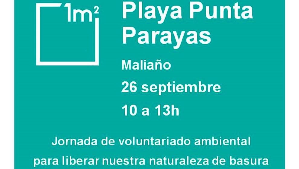 Punta Parayas, escenario de una acción de voluntariado ambiental el 26 de septiembre