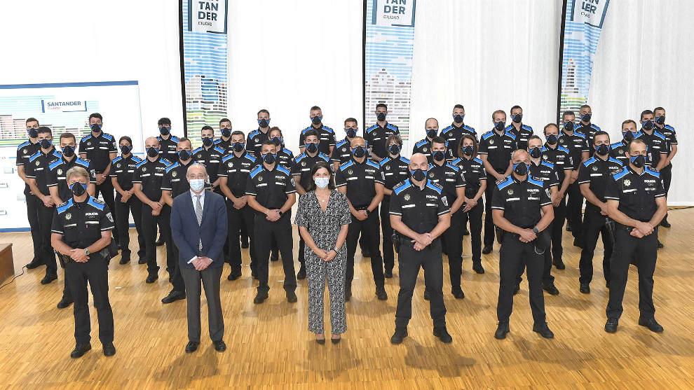 La Policía Local refuerza su plantilla con la incorporación de 36 agentes
