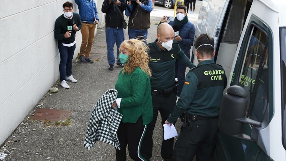 El fiscal imputa asesinato a la acusada del crimen del cráneo de Castro