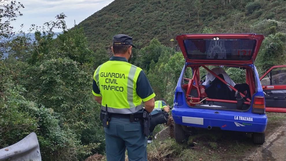 Fallecen un piloto cántabro y su copiloto en el Rallye Villa de Llanes