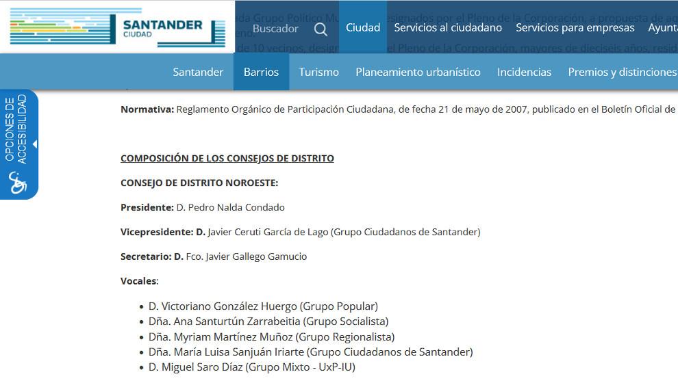 Captura pantalla web Santander_Pedro Nalda