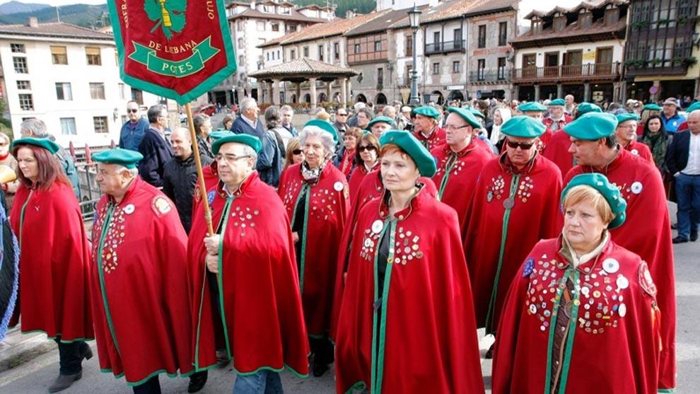 Potes recupera la Fiesta del Orujo tras el 'parón' de 2020 por el Covid