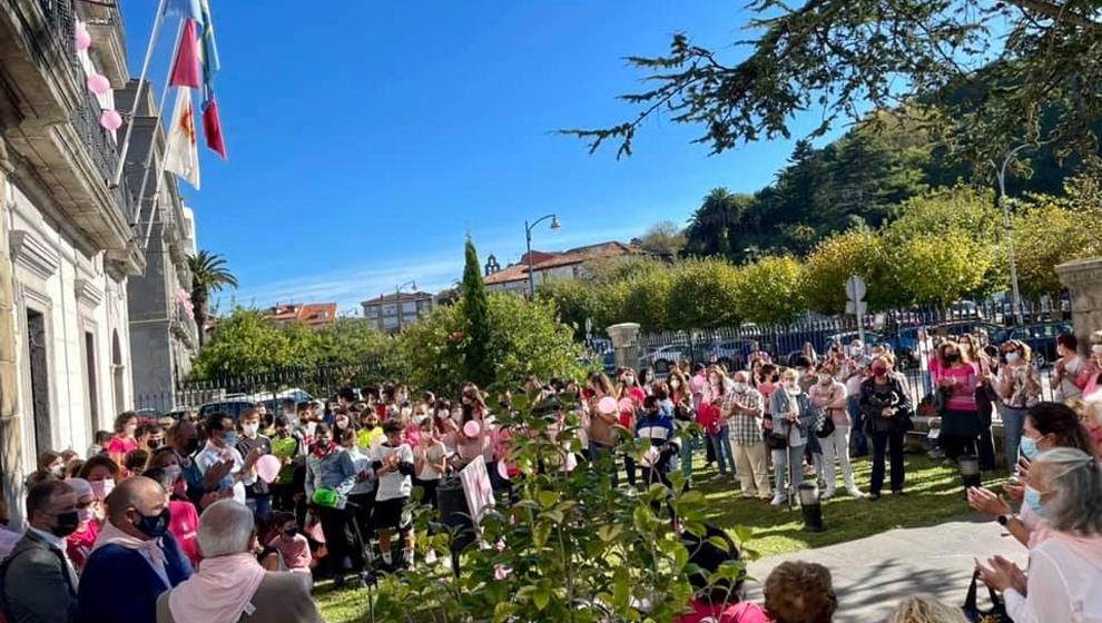 Laredo conmemora el Día contra el Cáncer de Mama