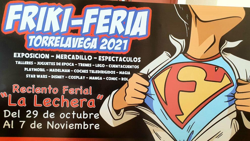 Las invitaciones para la Friki Feria se podrán conseguir entre el 25 y 29 de octubre